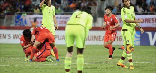 Vinotinto Femenina Sub-20 cae ante Corea | Foto: Fifa