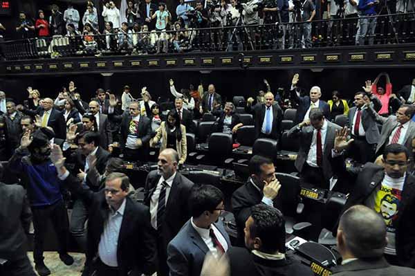 Asamblea Nacional en sesión | Foto: @AsambleaVE