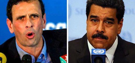 Henrique Capriles / Nicolás Maduro | Composición Notitotal