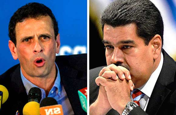 Capirles Radonski / Nicolás Maduro | Composición Notitotal