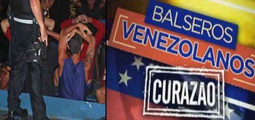 Balseros venezolanos en Curazao | Composición Notitotal