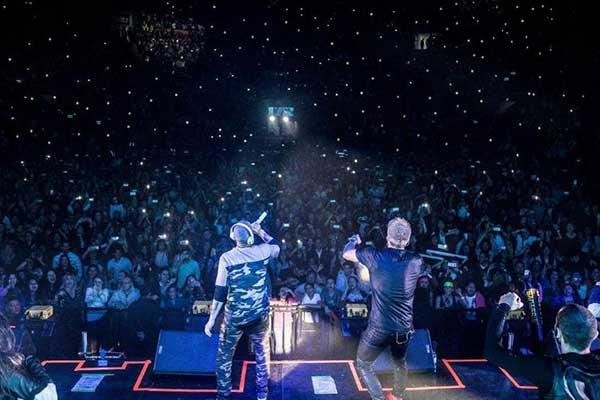 Concierto de Chino y Nacho en Quito | Foto: Instagram