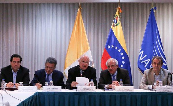 Segunda sesión plenaria del diálogo Gobierno-MUD | Foto: Reuters