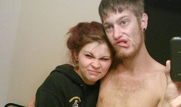 Ashlee Hutt y su pareja Leeroy 'Mac' McIver | Foto: cortesía