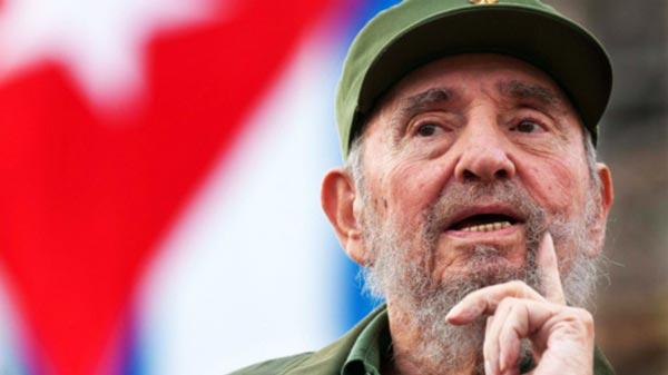 Fidel Castro Foto: Globovisión