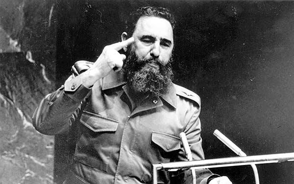 Fidel Castro discurso para la ONU   Foto:CNN