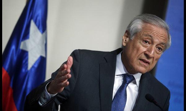 Heraldo Muñoz, Canciller chileno | Foto: Cortesía