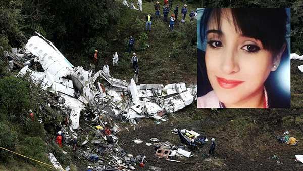 La azafata Ximena Suárez es una de los seis supervivientes del accidente de avión del Chapecoense | Foto: La Vanguardia