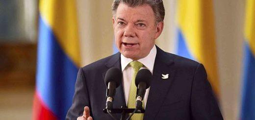 Juan Manuel Santos, presidente de Colombia |Foto archivo