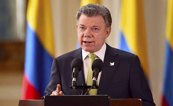 Juan Manuel Santos, Presidente de Colombia | Foto: Cortesía