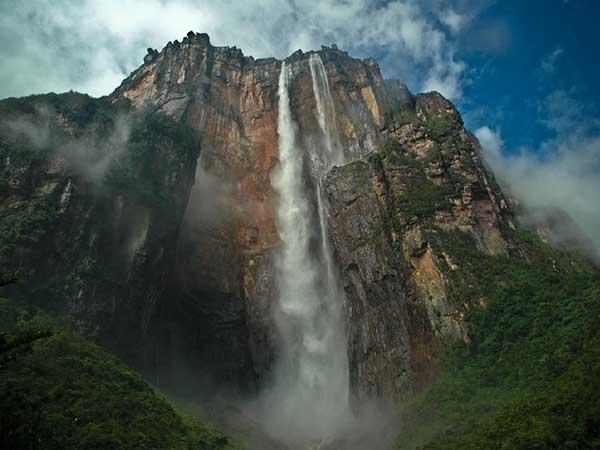 El salto Ángel, Venezuela | Foto: Agencias