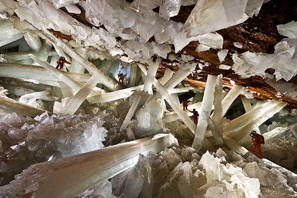 La mina de Naica, México | Foto: Agencias