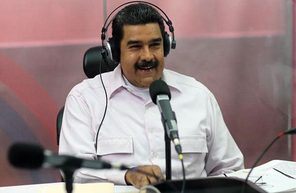 Nicolás Maduro en 'La Hora de la Salsa' | Foto: @PresidencialVen