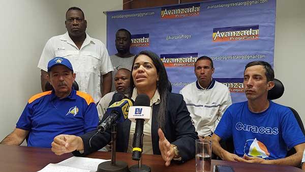 Maribel Castillo, ex concejal de Caracas y coordinadora del partido Avanzada Progresista (AP) | Foto: La Patilla