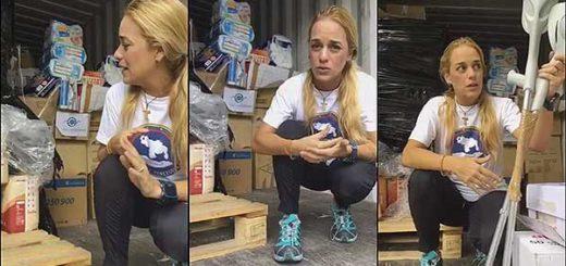 Lilian Tintori recibe cargamento de medicinas | Foto: @liliantintori