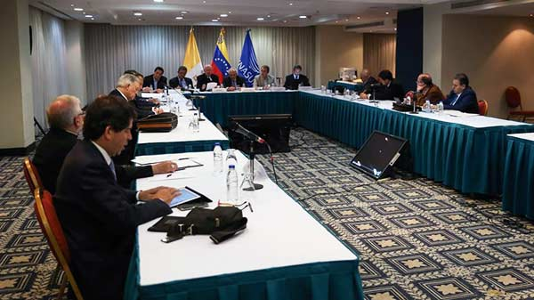 MUD desminte noticia sobre presunto plazo impuesto a mediadores del diálogo | Foto: AVN