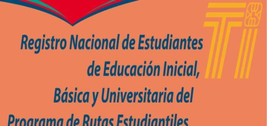 Registro Nacional de Estudiantes | Imagen: MPPTOP