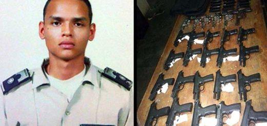 Parque de armas recuperado habría sido robado por un policía | Composición Notitotal