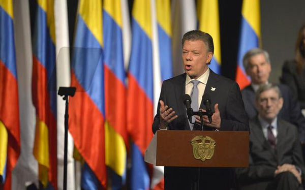 Juan Manuel Santos | Foto: AFP