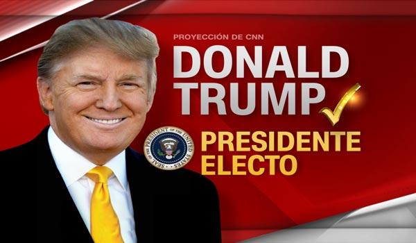 Donald Trump es elegido presidente de Estados Unidos|CNN