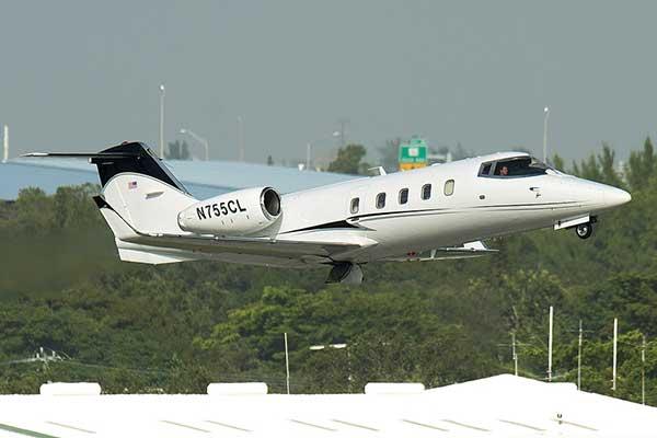 Gaviria Flores viajó en este avión privado (siglas N755CL) desde Caracas a Miami en octubre de 2016 | Foto: Maibort Petit