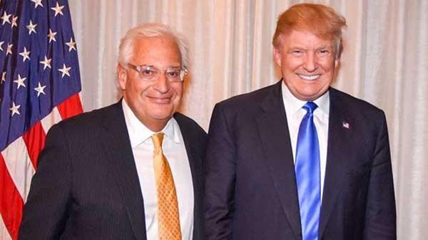 El presidente electo de Estados Unidos, Donald Trump anunció la designación de David Friedman como embajador de Israel | Foto: Jerusalen Post