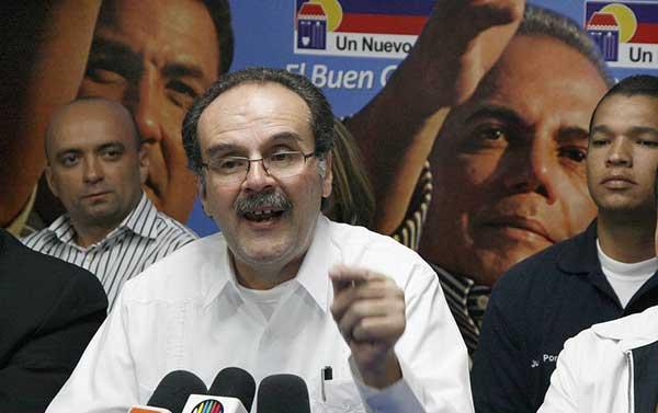 Enrique Ochoa Antich | Foto: El Nacional