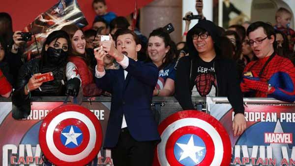 Capitán América fue el filme estrella de 2016 | Foto: AFP