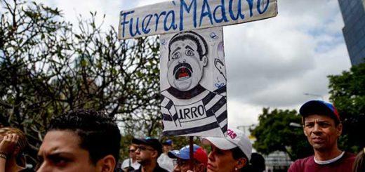 Venezolanos protestan contra Nicolás Maduro | Foto: Federico Parra/AFP
