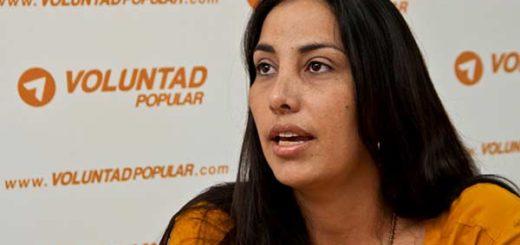 Diputada Adriana Pichardo habla de los presos políticos  Foto: Primicias24
