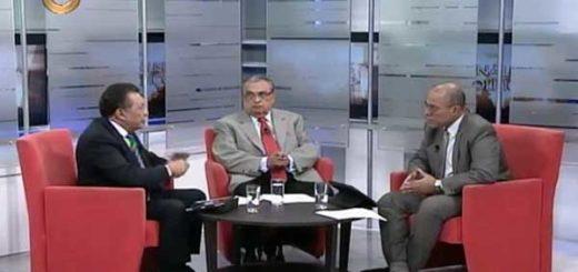 Manuel Felipe Sierra, Germán Ferrer y Vladimir Villegas | Foto: Captura de video
