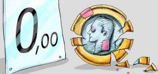 El bolívar fuerte, según el caricaturista Roberto Weil | Imagen: Roberto Weil
