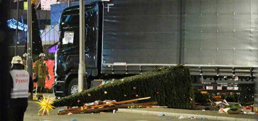 Atentado en Berlín dejó 12 muertos y decenas de heridos | Foto: AFP