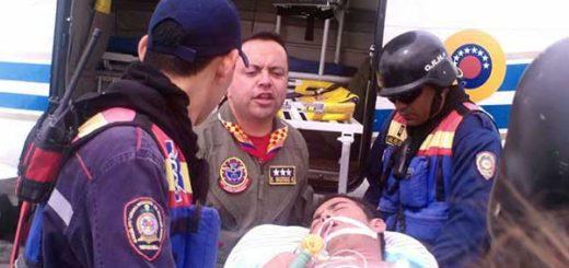 Funcionario del cuerpo de Bomberos de Socopó sufrió la amputación de su pierna derecha debido a la falta de suero antiofídico. | Foto: El Pitazo