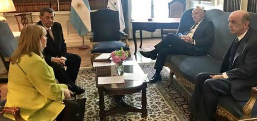 Cancilleres del Mercosur se reunieron sin Venezuela | Foto: @joseserra_