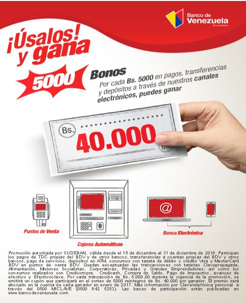 Como funciona el extra credito del banco de venezuela for Numero del banco exterior