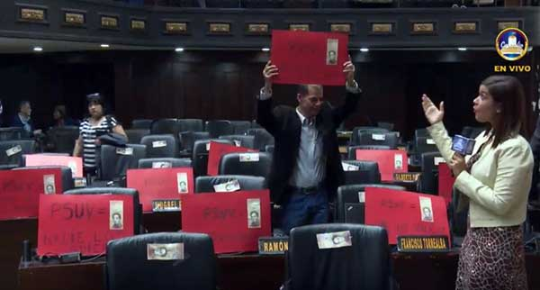 Carteles para el Psuv | Captura de video
