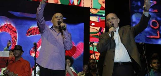Jorge Rodríguez destinará millones de bolívares para un concierto en el municipio Libertador  Foto: Globovisión