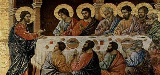 La santa cena |Duccio di Buoninsegna