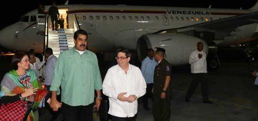 Maduro llegó a La Habana | Foto: @PresidencialVen