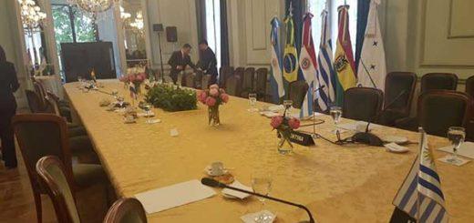 La bandera de Venezuela ya no forma parte del Mercosur | Foto: @DrodriguezVen