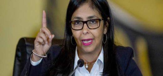 Delcy Rodríguez, canciller venezolana |Foto Twitter