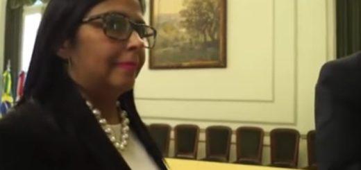 Delcy Rodríguez|Captura de video
