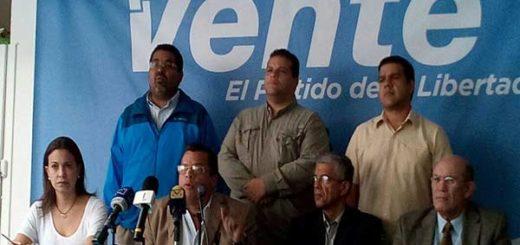 Diputados de Vente Venezuela |Foto: Nota de prensa