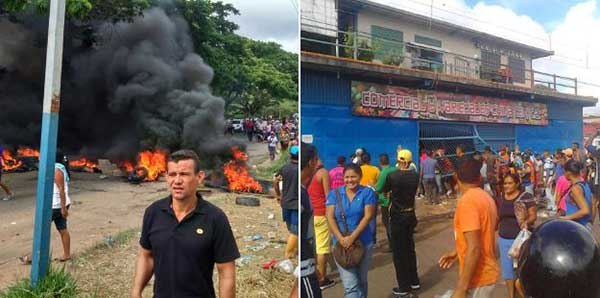 Protestas en El Callao | Foto: Twitter
