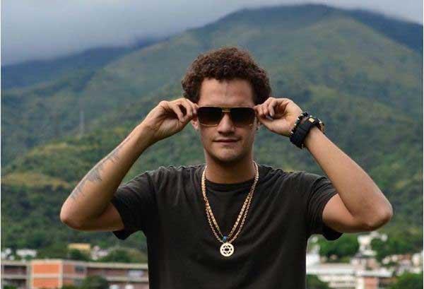 "Jesús Amoroso, ""El Duke"", hijo de Elvis Amoroso | Foto: Instagram"