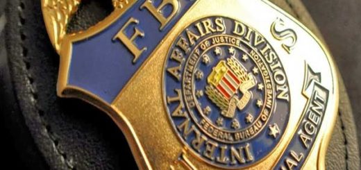 Placa del FBI |Foto referencial