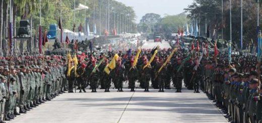 Maduro anuncia ejercicios militares de defensa para el 14 de enero | Foto: @VTVCanal8