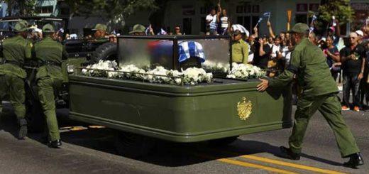 Traslado de las cenizas de Fidel Casdtro |Foto: Reuters