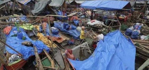 Al menos 3 muertos por tifón Nock-Ten en Filipinas | Foto: EFE